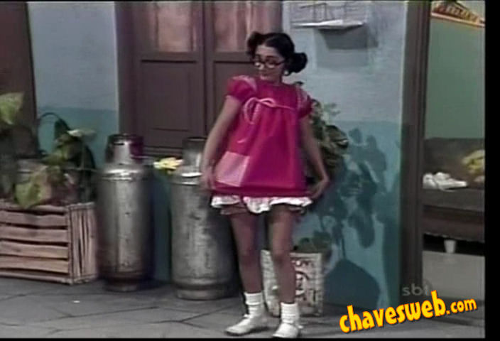 chiquinha de vestido novo