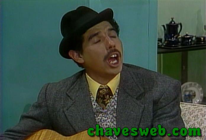 Professor Jirafales (Girafales) cantando Cantando