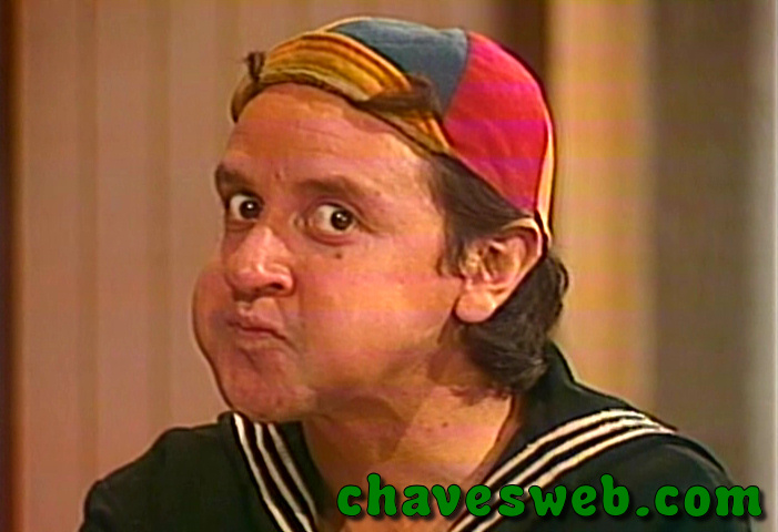 Quico irritado com o Chaves
